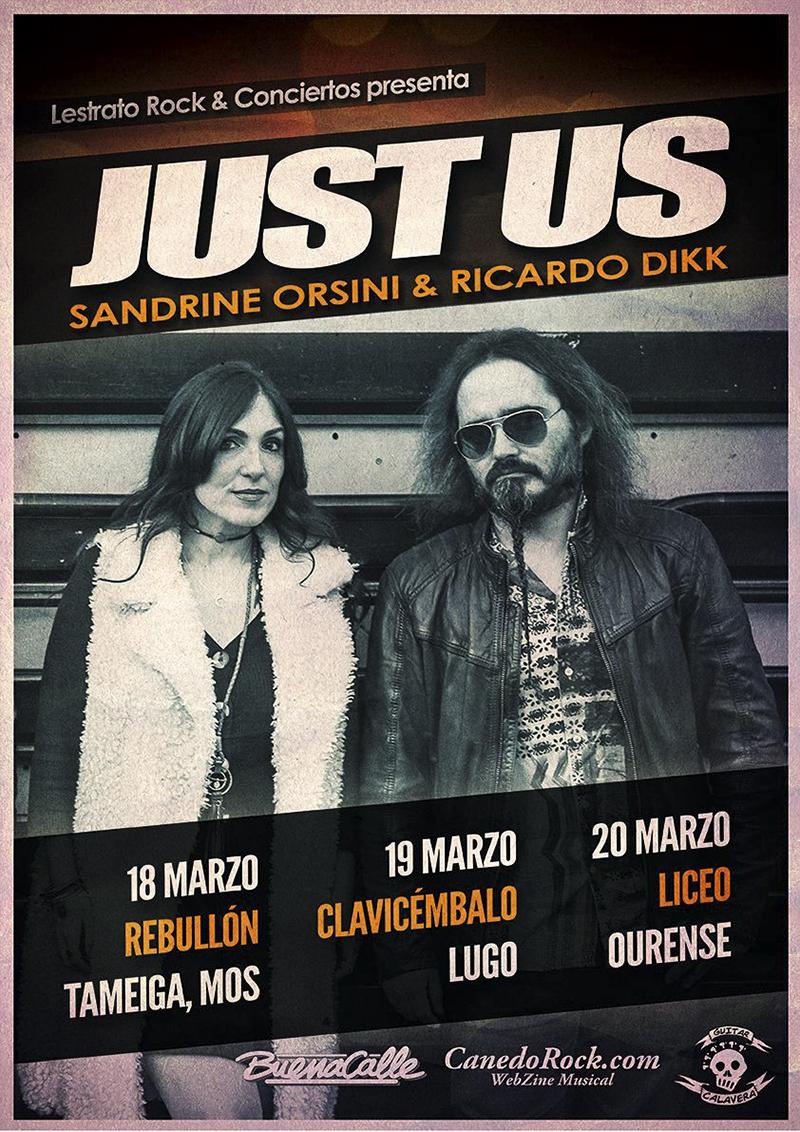 Just Us - Sandrine Orsini y Ricardo Dikk