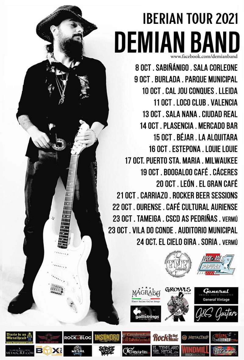 Demian Band Tour