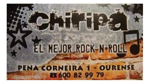 Bar Chiripa. Ourense.
